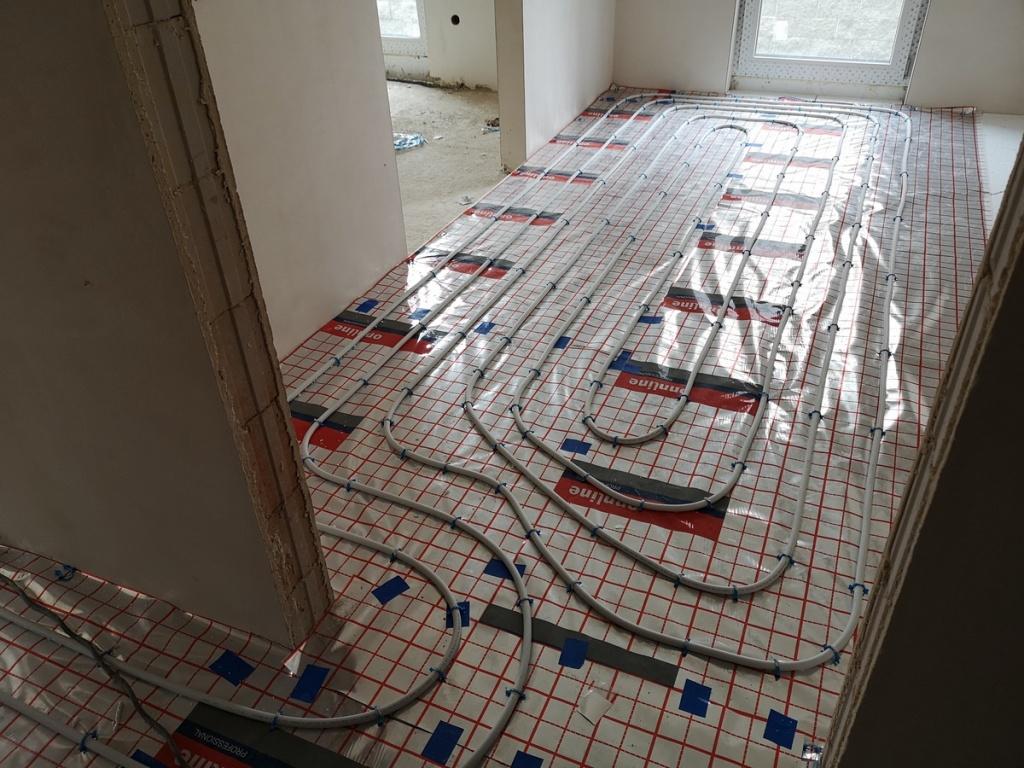 2020 06 05 Instalacja CO pod podłogą M1